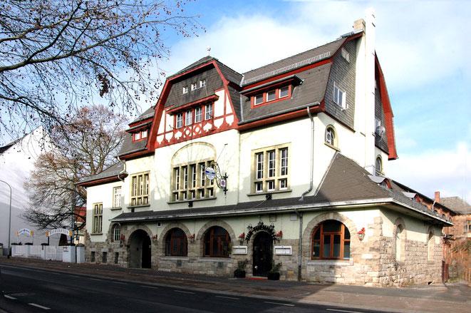 Turnhalle mit Gaststätte; Gründungsstätte der Freiwilligen Feuerwehr Limburg