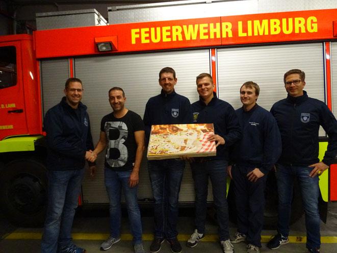 von links: René Jung, Marco di Cesare, Stephan Meurer, Dennis Laskowski, Kai Ahlbach, Kay Simon