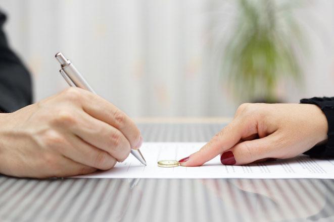 Scheidungsfolgenvereinbarung Familienrechtskanzlei Martina Wolter Braunschweig