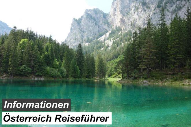 Bester Österreich Reiseführer Empfehlung & Informationen, Österreich Landschaft HD Foto - grüner See