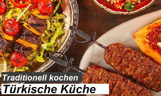 Türkei Kochbuch, türkische Küche und Gerichte. Die besten türkischen Kochbücher
