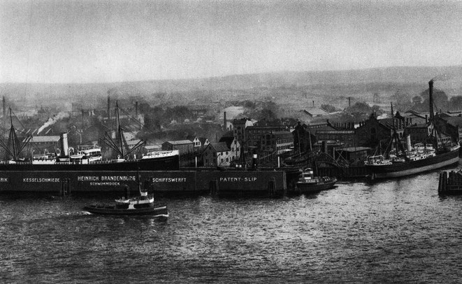 Werft heirich Brandenburg 1912