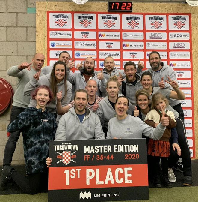 Samen gezellig wedstrijden meedoen CrossFit Superfit Waalwijk