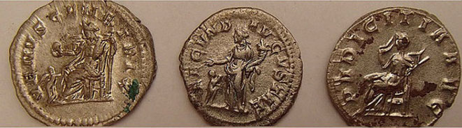 Monnaie romaine Yeovil Angleterre
