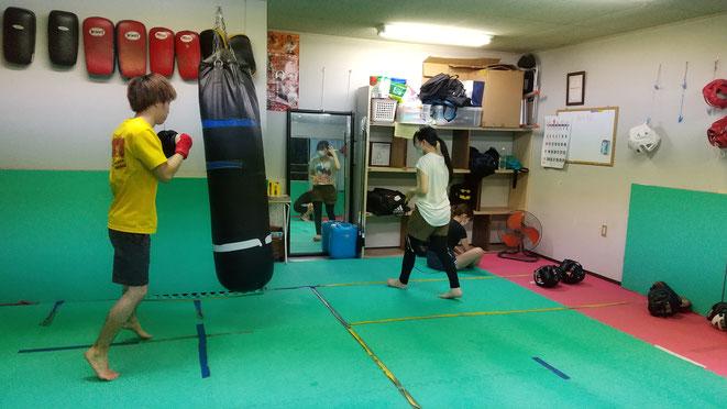 teamYAMATO大和高田本部キックボクシングの練習再開。試合が待ち遠しい。