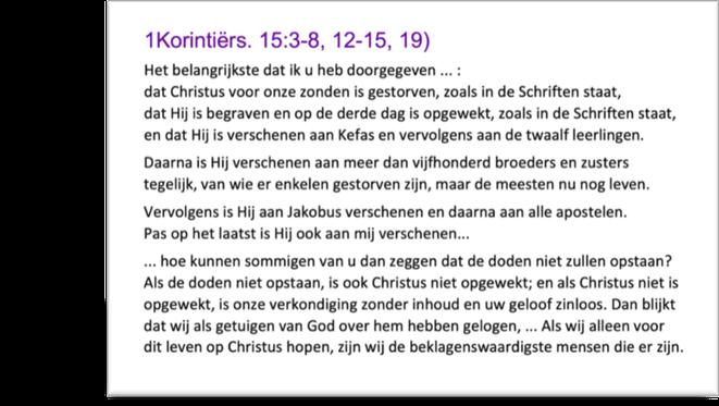 1Korintiërs 15:3-19