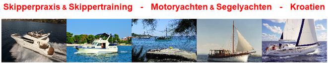 MAG Seefahrtschuke in Kroatien - Skipperpraxis & Skippertraining auf Motoryachten & Segelyachten