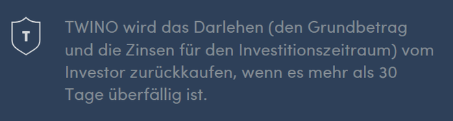 freaky finance, Twino, Rückkaufgarantie, BuyBack-Gurantee, Screenshot