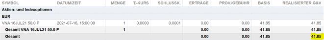 freaky finance, Optionshandel. REITsOptionen Depot
