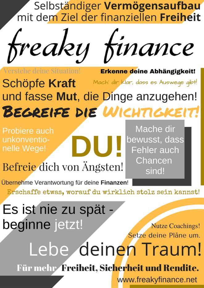 freaky finance, Manifest