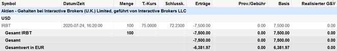 freaky finance, iRobot Aktien, Kauf, Banx
