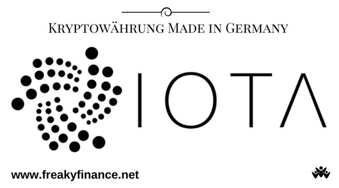 freaky finance, IOTA, Kryptowährung, IOTA-Logo, IOTA Schriftzug, Gastartikel von Coin.Hero.de