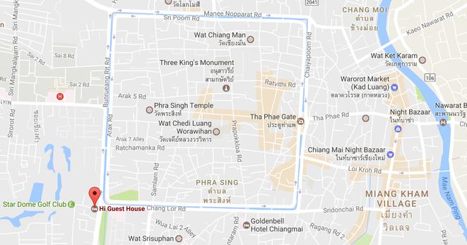 freaky finance, freaky travel, Chiang Mai, Altstadt, Stadtgraben