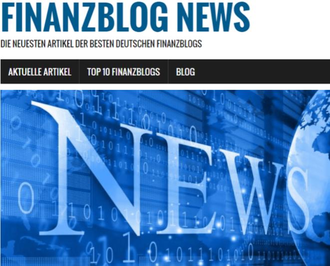 freaky finance, Screenshot, Finanzblognews, Startseite, blau, News
