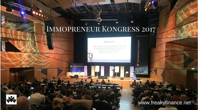 freaky finance, Immopreneur Kongress 2017, Hauptbühne, Darmstadtium, Bühne, Publikum, Vortrag