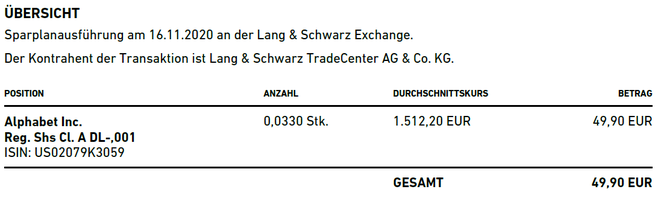 freaky finance, Trade Republic, Ausführung Kauf Main Street Capital, Orderabrechnung