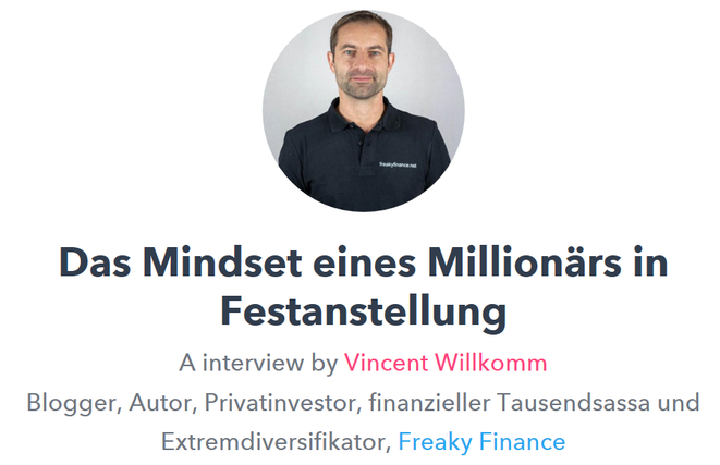 freaky finance, Geldhelden Online Kongress, Interview, Das Mindset eines Millionärs in Festanstellung