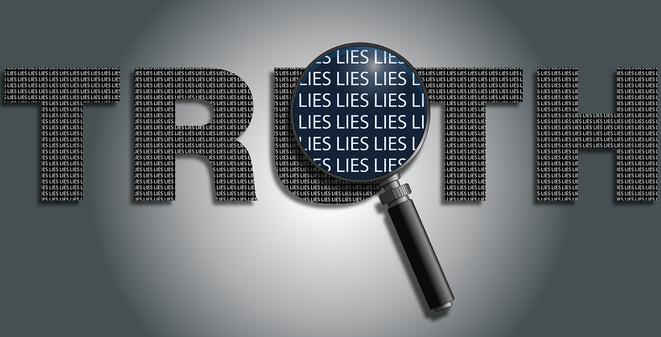 真実と嘘イメージ