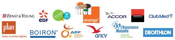 E&Y, EDF, Orange Campus, Boiron, Décathlon... quelques uns des clients qui nous ont fait confiance.