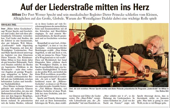 Kleinkunstverein Altbau e.V. - Werner Specht & Dieter Peinecke