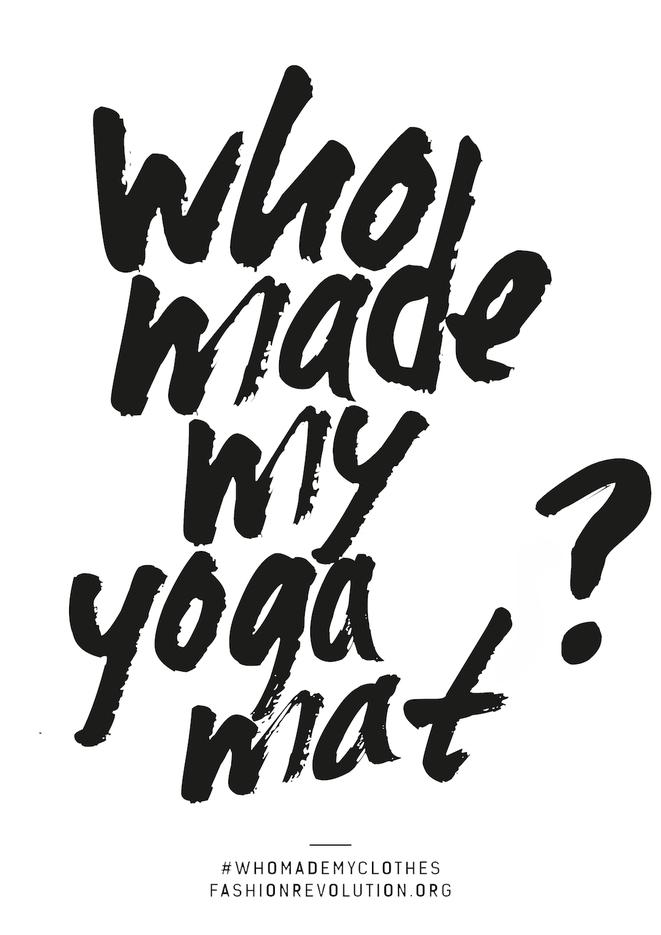 Who made my yoga mat? Faire Yogamatten Hersteller können einfach auf diese Frage antworten.