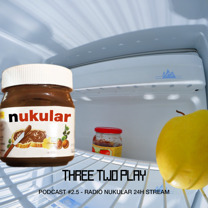 Radio Nukular, Threetwoplay, 32play, Podcast, Gameswelt, 24 Stunden, 24h, Stream, Gameswelt Live, Twitch, Rumble Pack, Ralph Gunesch, Felgenralle, Tim, Jules, Hammes, Chris, Max, Rockstah, Threetwoplay, 32play, Österreich, Austria, München