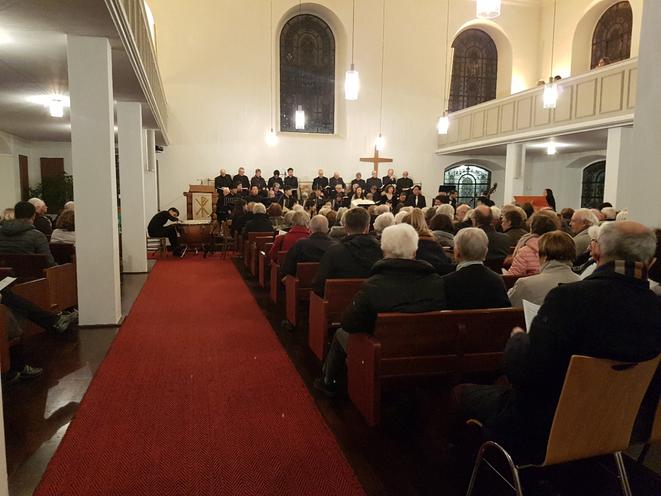 """Fast dreihundert Besucher*innen beim """"Messias"""" in der Heilig-Geist-Kirche"""