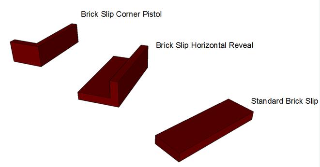 Brick Slip Formats