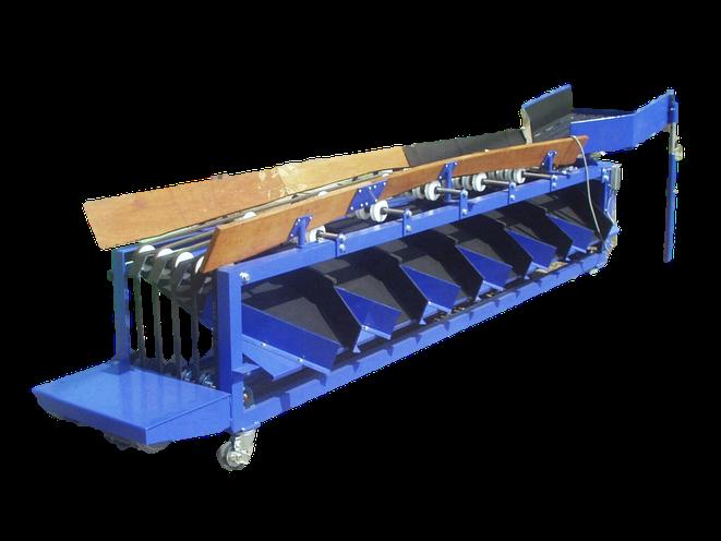 ベルト式 蒟蒻玉選別機 振り分け装置付
