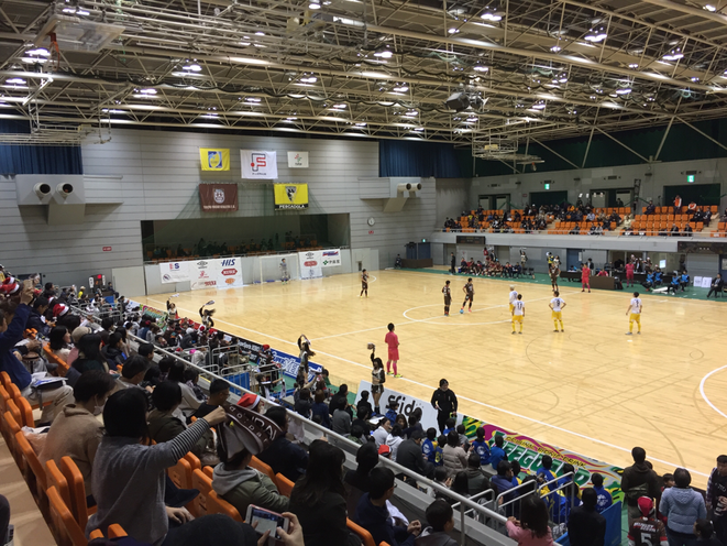 Cheering up ! by Tokyo Fuchu Athletic F.C. Supporters Fuchu municipal general gymnasium Tokyo Fuchu city sport futsal F-League attraction event entertainment Western Tokyo Tama Toursim Promotion - Visit Tama