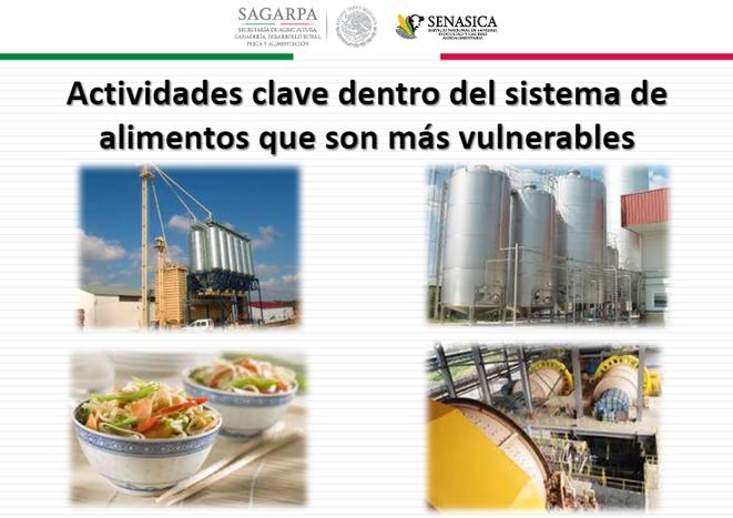 Plan food defense. Implantar planes de seguridad en fábricas de alimentación, instalaciones.