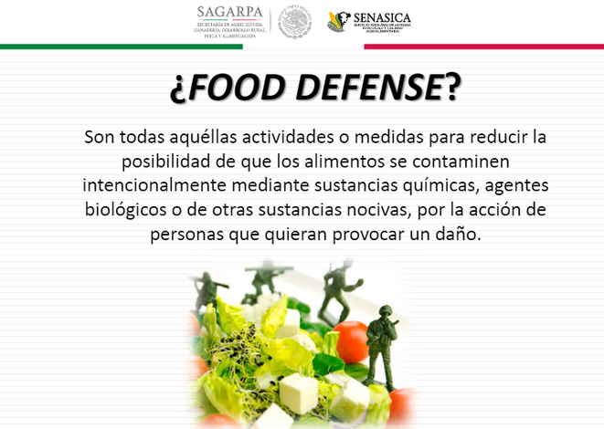 ¿Qué es food defense? o Seguridad y defensa alimentaria. Implantación, auditorias y certificación IFS, BRC.