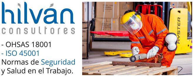 Consultoría OHSAS 18001  ISO 45001:2018 auditores Valencia, Castellón, Alicante. Implantar, auditar, certificar.