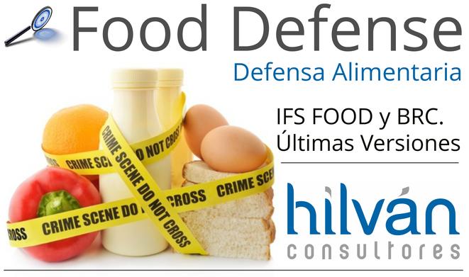 Food Defense Valencia, Castellón, Alicante, Albacete. Consultores y auditores IFS Food y BRC versiones 6, 6.1, 7. Gestora y asesoría defensa alimentaria. Implantar, auditar, certificar seguridad en empresas de alimentación.