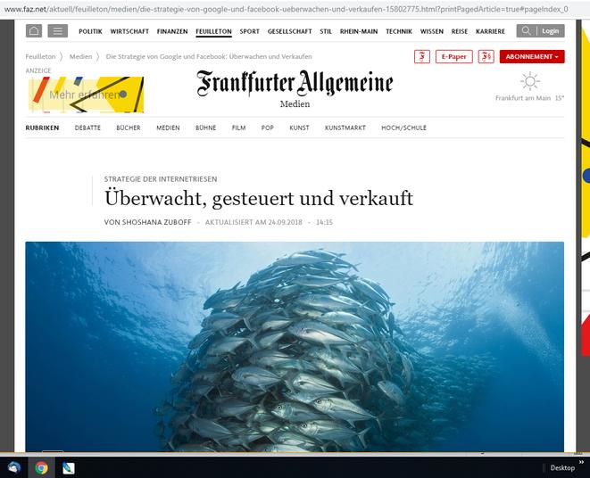 ©FAZ.net - zum Weiterlesen einfach auf das Bild klicken, dann öffnet sich die Seite in Ihrem Browser!