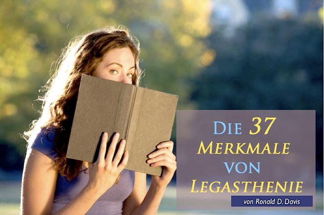 """Titelbild """"Die 37 Merkmale der Legasthenie"""" Frau mit Buch vorm Gesicht"""