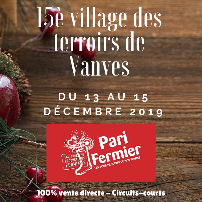 15e édition du village des terroirs de Vanves du 13 au 15 décembre 2019