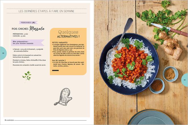 LECTURE : De bons petits plats sains et végétariens ?.. C'est décidé je BATCH COOK végé !.