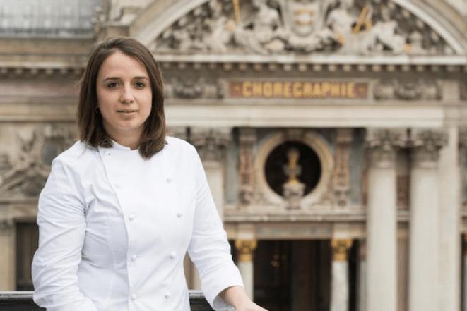 Canal Gourmandises - Sophie De Bernardi, Chef pâtissière de l'hôtel InterContinental Paris et du Café de la Paix.