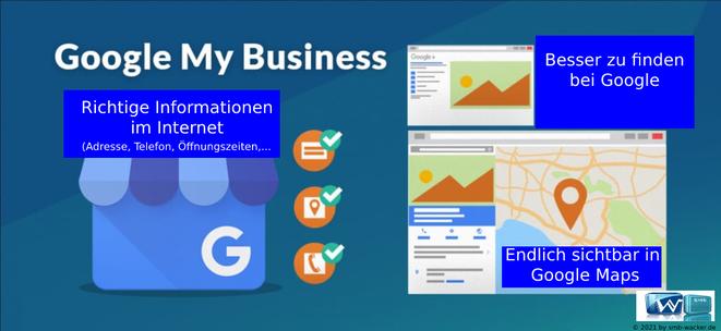 Google my Business Übersicht