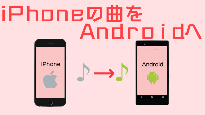 iPhoneの曲をAndroidへ