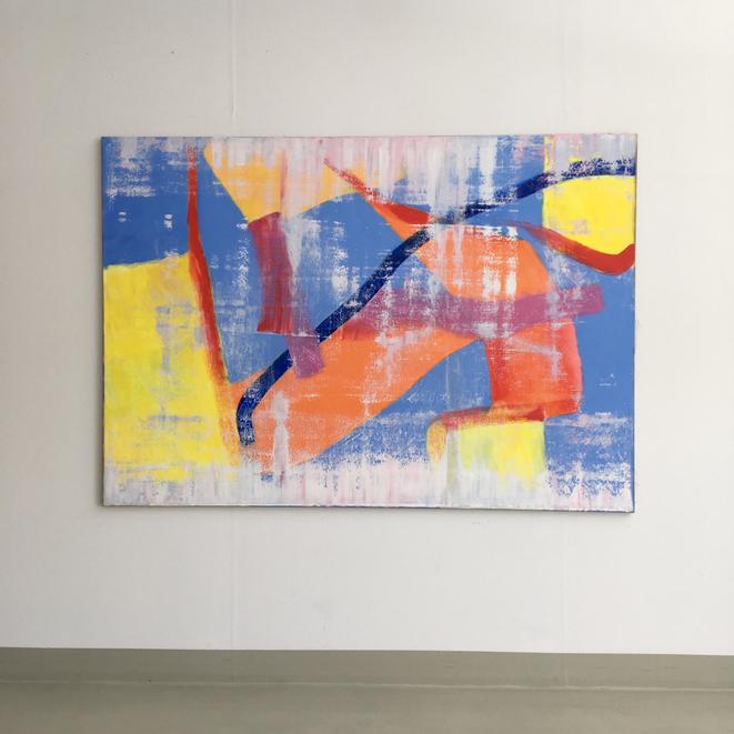 Reflection 2019  140 x 200 cm oil/canvas