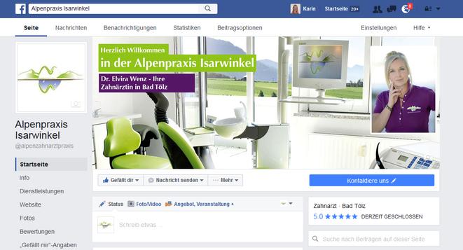 Alpenpraxis Isarwinkel auf Facebook
