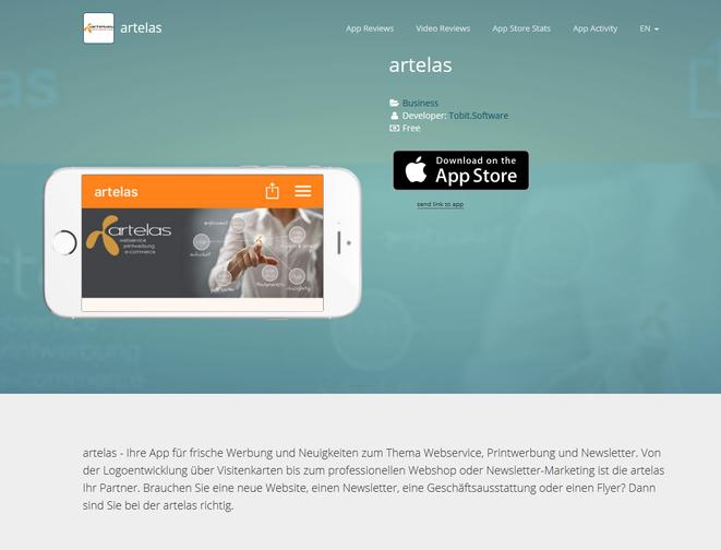 artelas APP Store