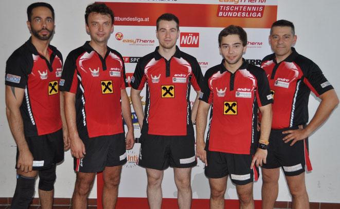Sierndorfs Bundesliga-Team - Saison 2015/2016