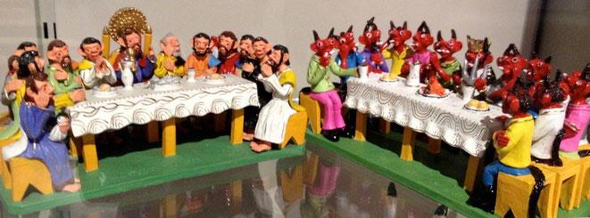 """The Last Supper of Lucifer"" von Manuel G. Lima (Museum Vancouver)"