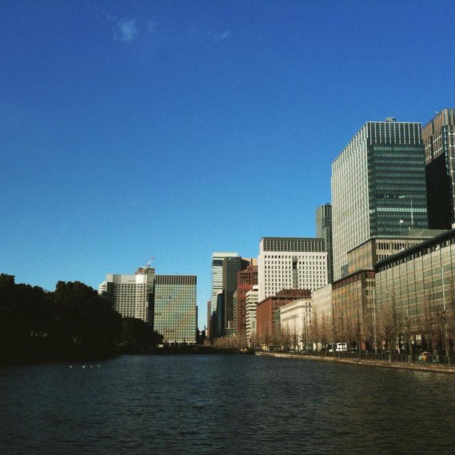 Image of Imperial Palace Tokyo Japan 皇居近くのイメージ画像 東京都千代田区