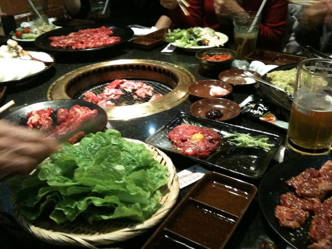 Enjoy your meal at Yakiniku Restaurant ! 8月29日は焼肉の日!