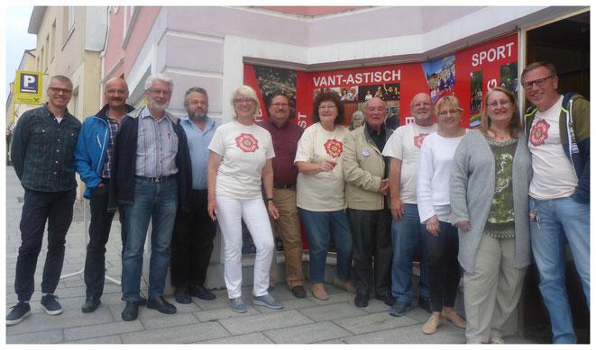 R.Ruckenstuhl,J.Fischer,J.Ecker,J.Kühr,B.Raabe,G.Hacl,H.Ucik,F.Ucik,F. Weinauer,S.Schweighofer,A.Hackl,W.Raabe