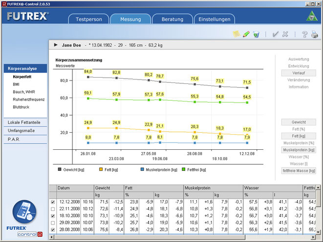Screenshot Verlaufs-Variante 2
